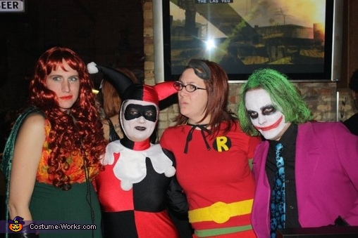 Where's Batman? HAHAHA!, Joker and Harley Quinn Costume