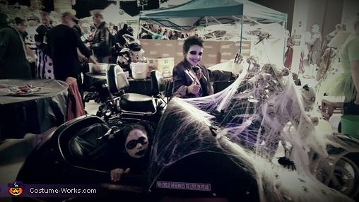 Joker and Harley Quinn Homemade Costume
