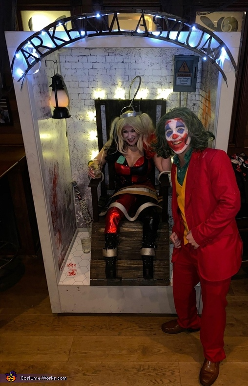 Joker and Harley's Electric Chair Costume