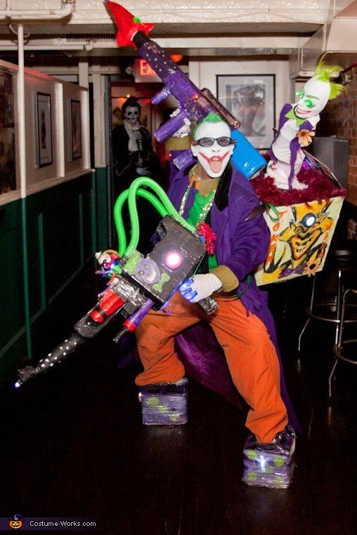 The Super Joker and his little Minion Costume