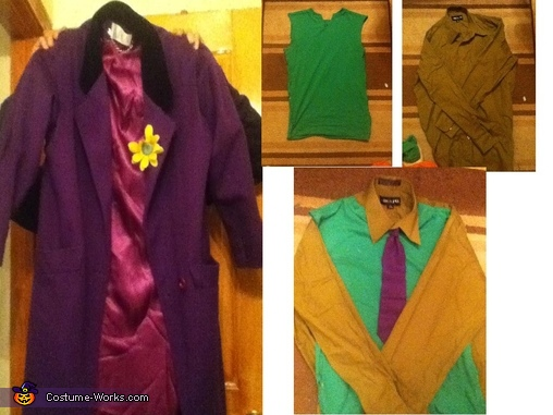 Jacket and shirts, The Super Joker and his little Minion Costume