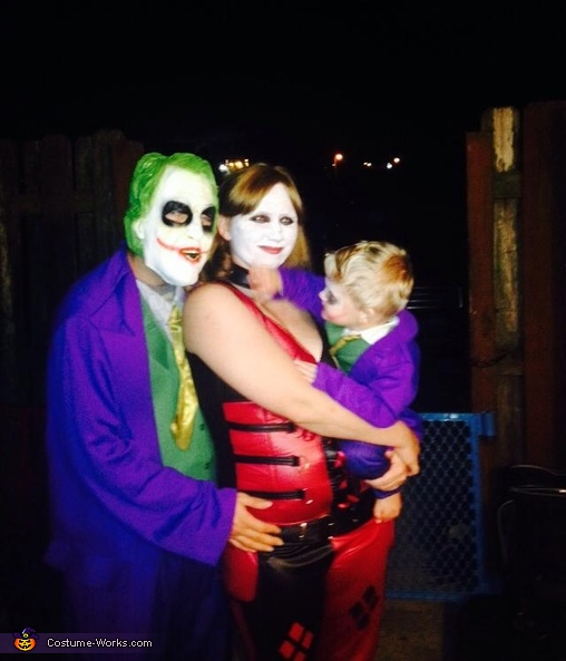 hey you!, Joker Family Costume