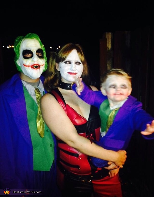 Joker Family Costume