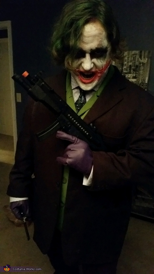 Why so serious?, Joker from the Dark Knight Costume