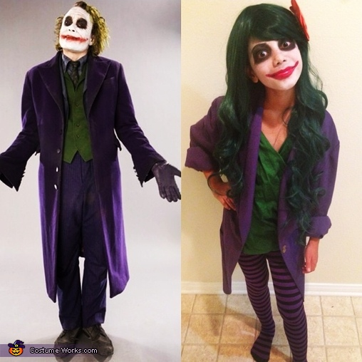 Joker Jokest Homemade Costume