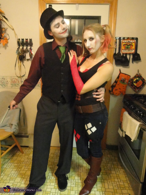 Joker & Harley Quinn - Homemade costumes for couples