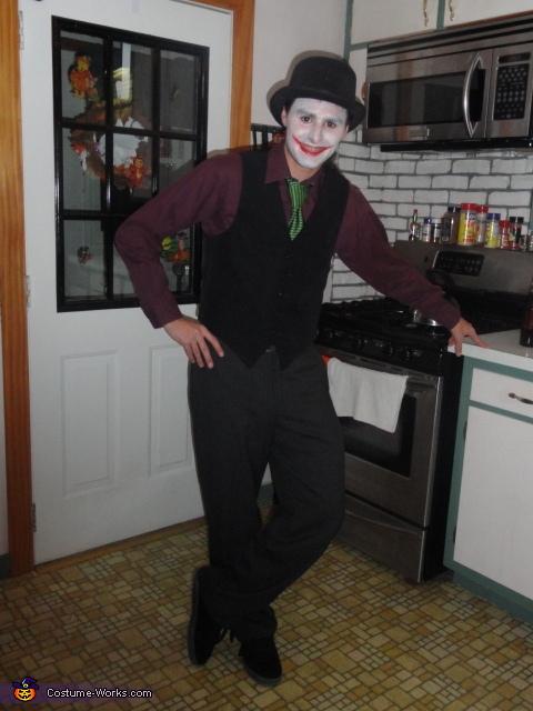Homemade Joker and Harley Quinn Costume