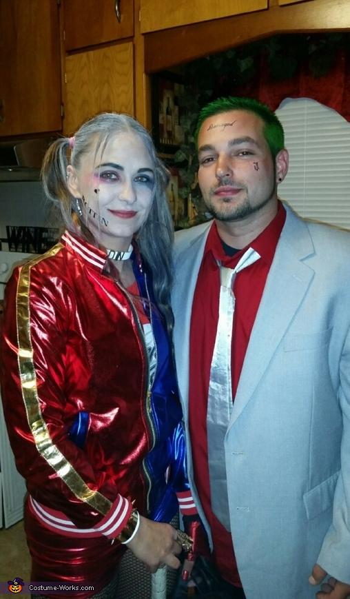 Suicide Squad Joker Halloween Costume.Joker Harley Quinn Suicide Squad Costume
