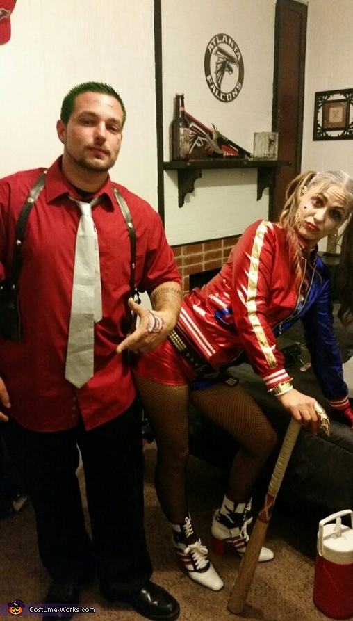 Joker & Harley Quinn Suicide Squad Homemade Costume