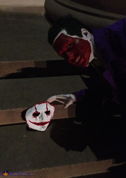 Look what I found is it my face , The Joker New 52 Costume