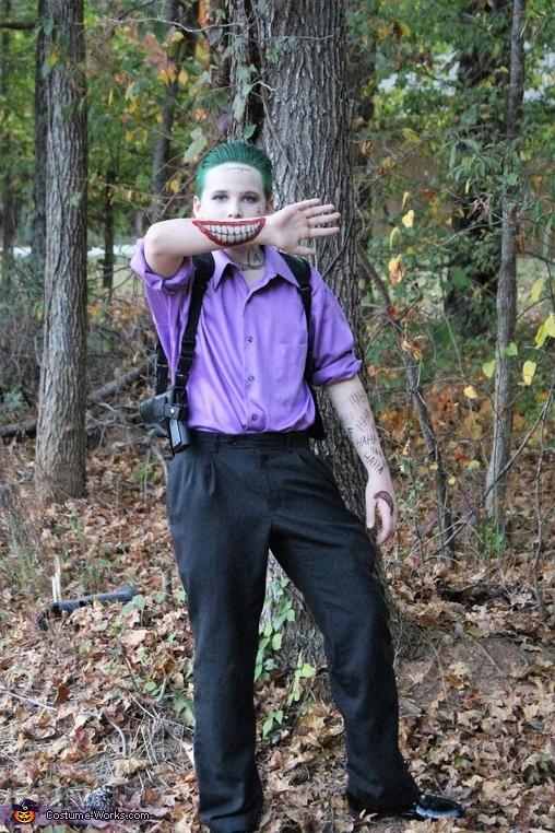 Joker- Suicide Squad, Joker - Suicide Squad Costume