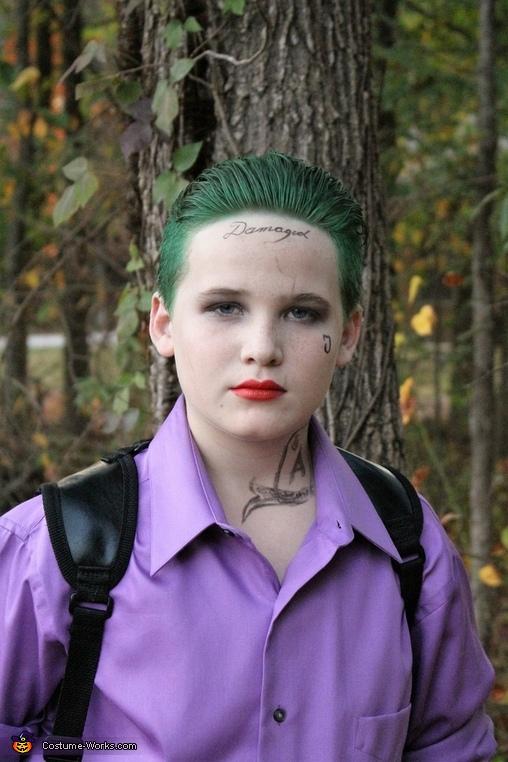 Joker - Suicide Squad, Joker - Suicide Squad Costume