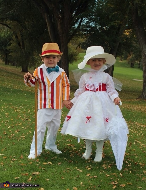 Jolly Holiday Mary Poppins & Bert Costume