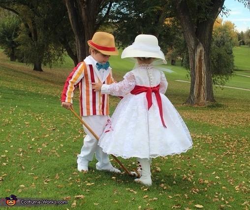 Bert & Mary Poppins admiration , Jolly Holiday Mary Poppins & Bert Costume