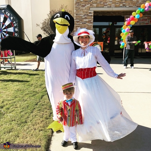 Jolly Holiday with Mary Poppins & Bert Costume