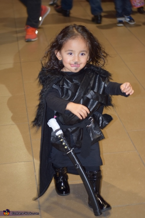 Baby Jon Snow on the run, Jon Snow Costume
