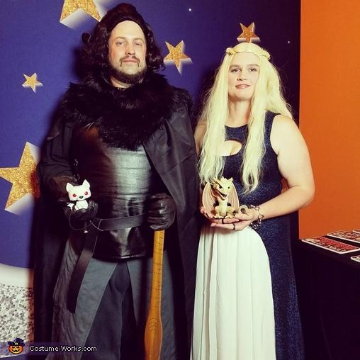 Jon Snow and Daenerys Targaryen Costume