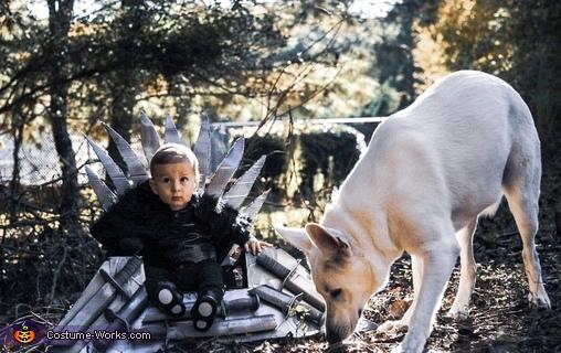 Jon Snow and Ghost Costume