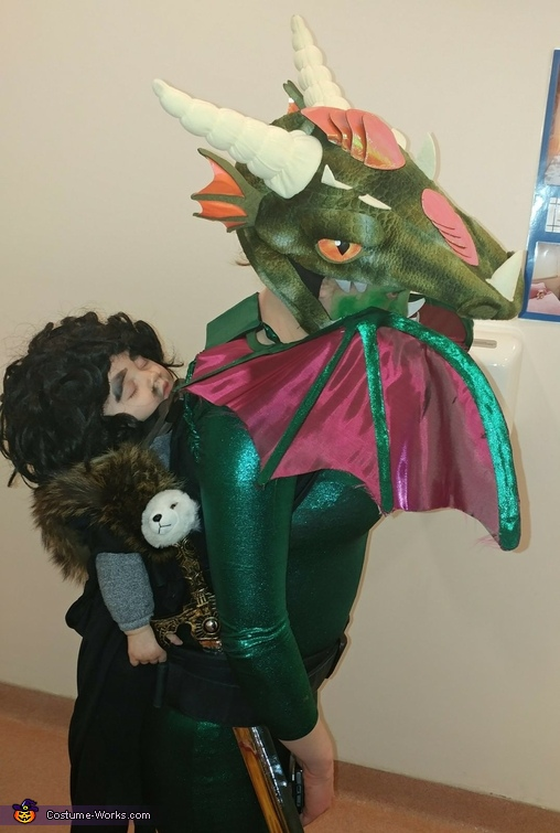 Jon Snow, Dragonrider Costume
