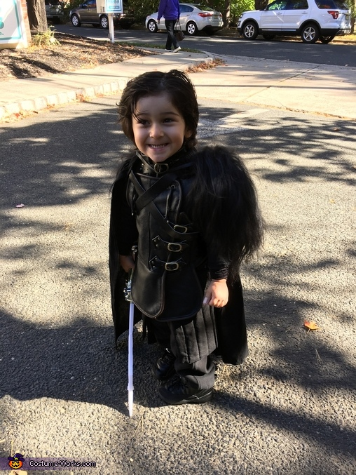 Jon Snow Game of Thrones Homemade Costume