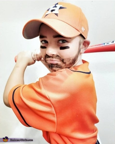 Jose Altuve Homemade Costume