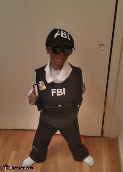 Jr FBI Agent Costume