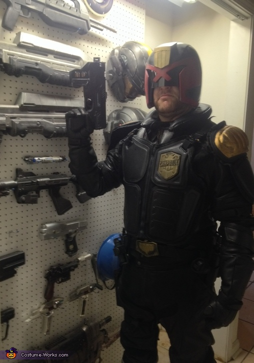 Judge Dredd Costume