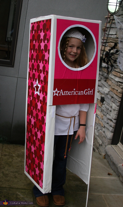 Julie the American Girl Doll in the Box Costume