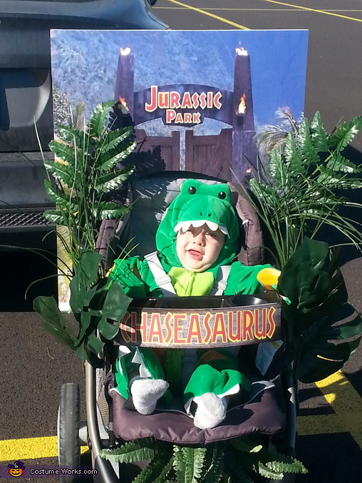 Chaseasaurus - Jurassic Park Baby Costume