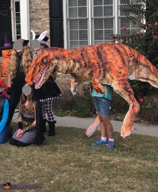 Jurassic Park Inspired Velociraptor Costume