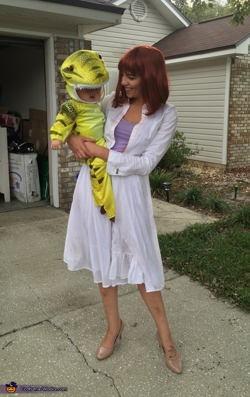 Jurassic World Claire & T-Rex Costume
