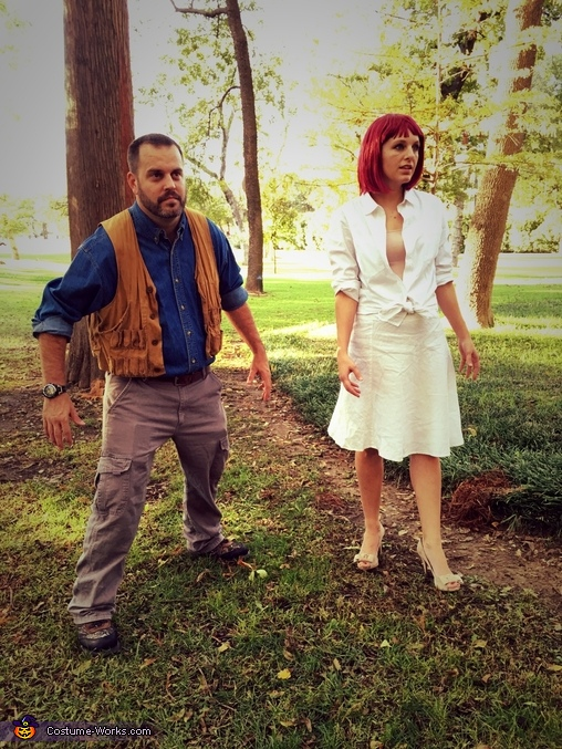Owen and Claire, Jurassic World Costume