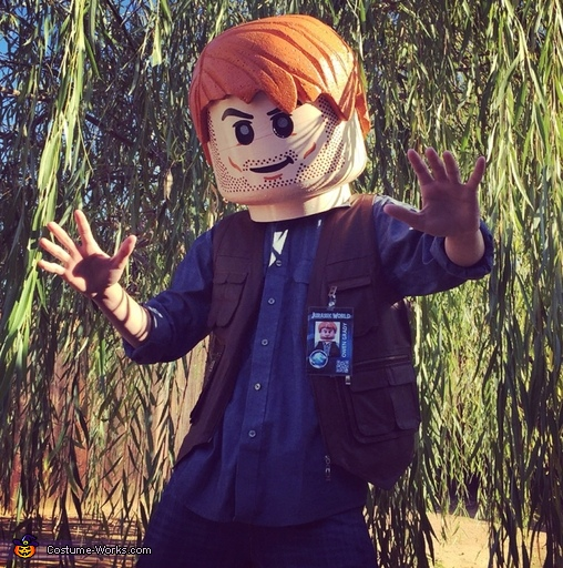 Jurassic World Lego Owen Costume