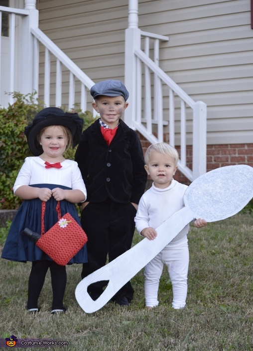 Just a Spoonful of Sugar Homemade Costume