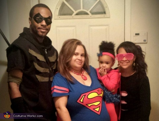 Justice League Family Costume