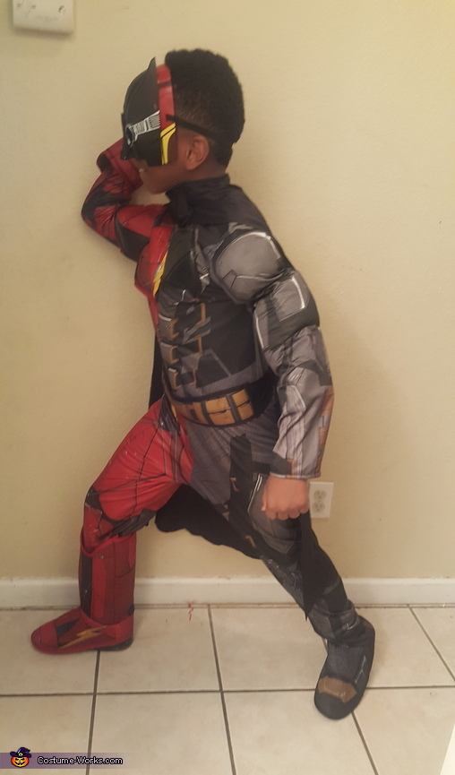 Justice League Flash / Batman Homemade Costume