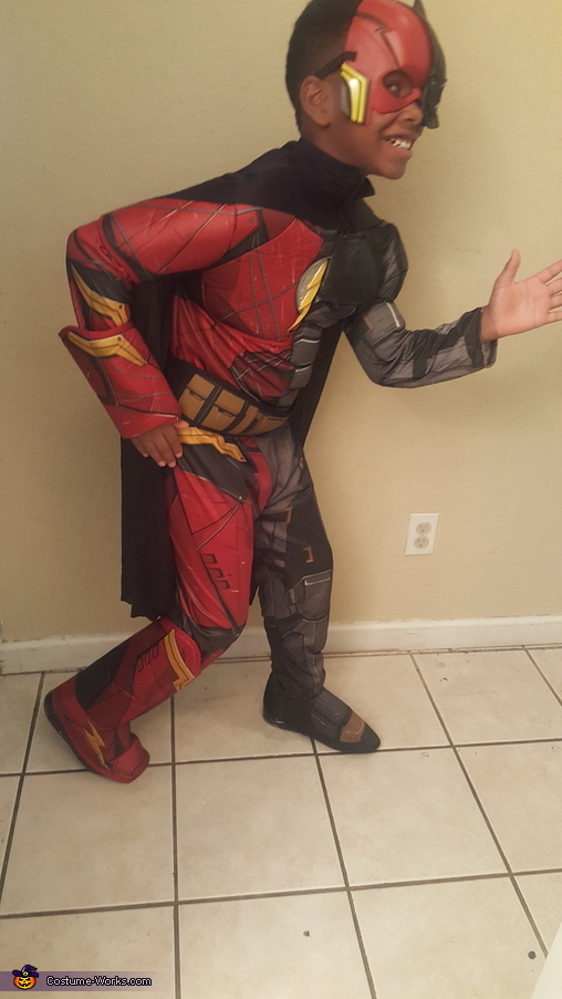 Justice League Flash / Batman Homemade Costume
