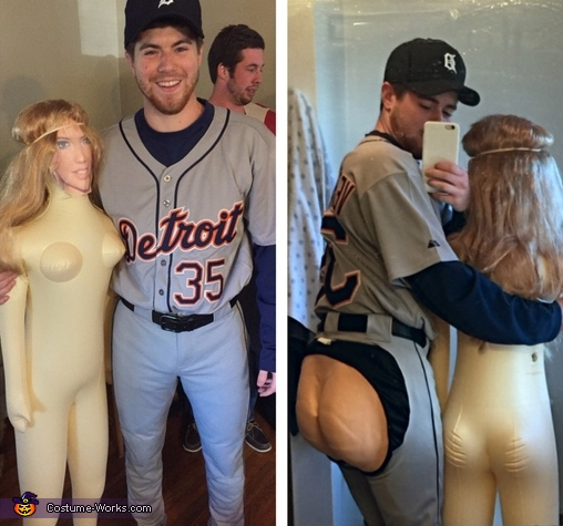 Justin Verlander and Kate Upton Costume