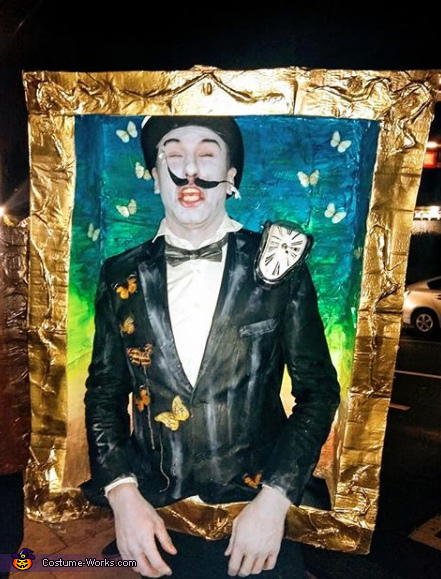 Kahlo, Dali, Picasso and Van Gogh Paintings Homemade Costume