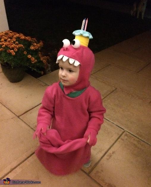 Kakie the Cake Monster Homemade Costume