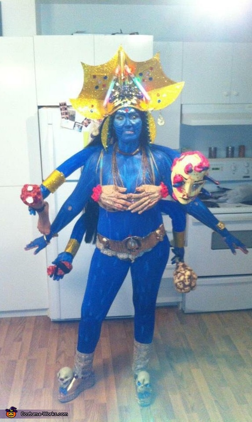 Kali Goddess of Death Costume