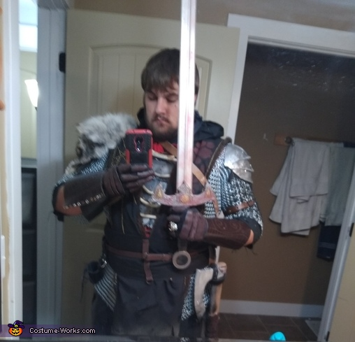 Karshan Warrior Homemade Costume
