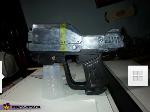 kat's magnum finished eva foam, Kat from Halo Reach Costume