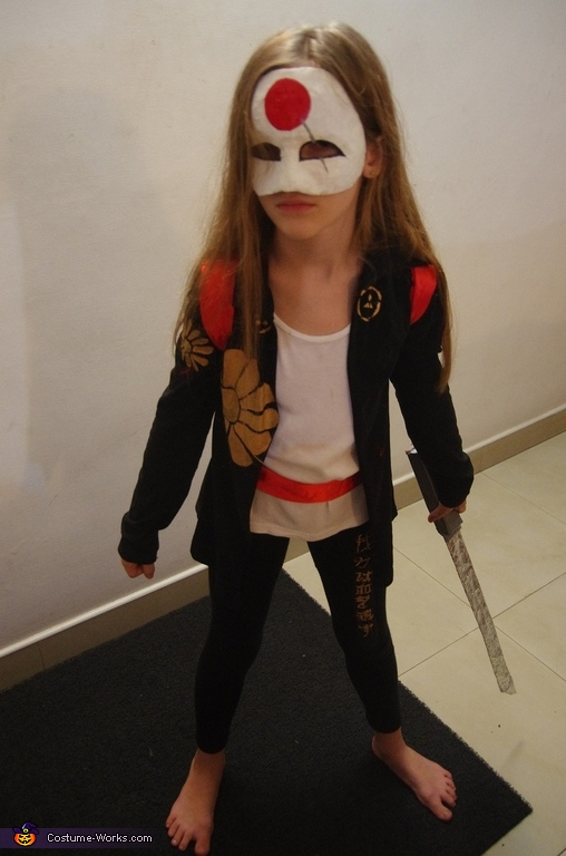 Katana Homemade Costume