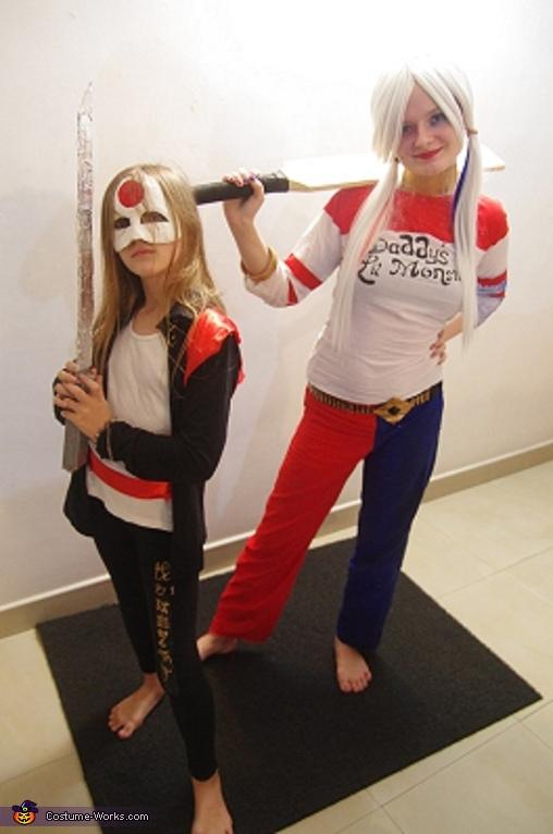 Katana and Harley Quinn Costume