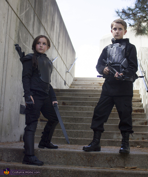 Katniss and Gale Costume