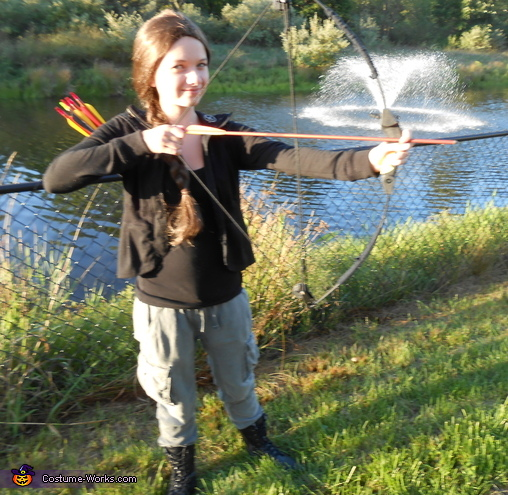 Katniss Everdeen - Homemade costumes for girls
