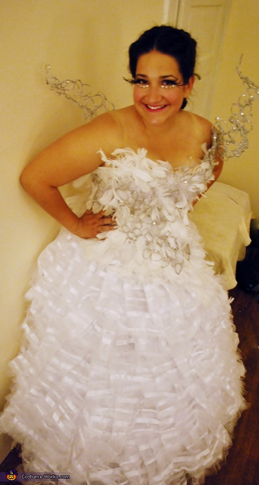 Katniss Everdeen Wedding Gown Costume