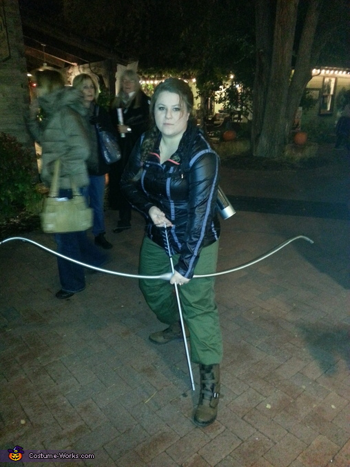 Night time shot, Katniss Everdeen Costume