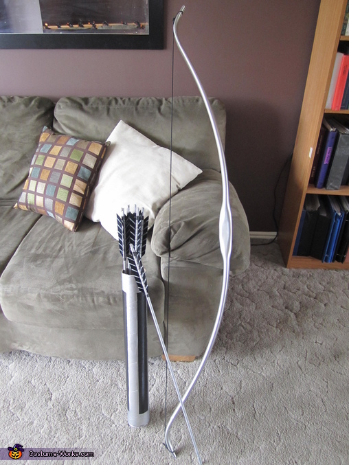 The bow and arrows together, Katniss Everdeen Costume